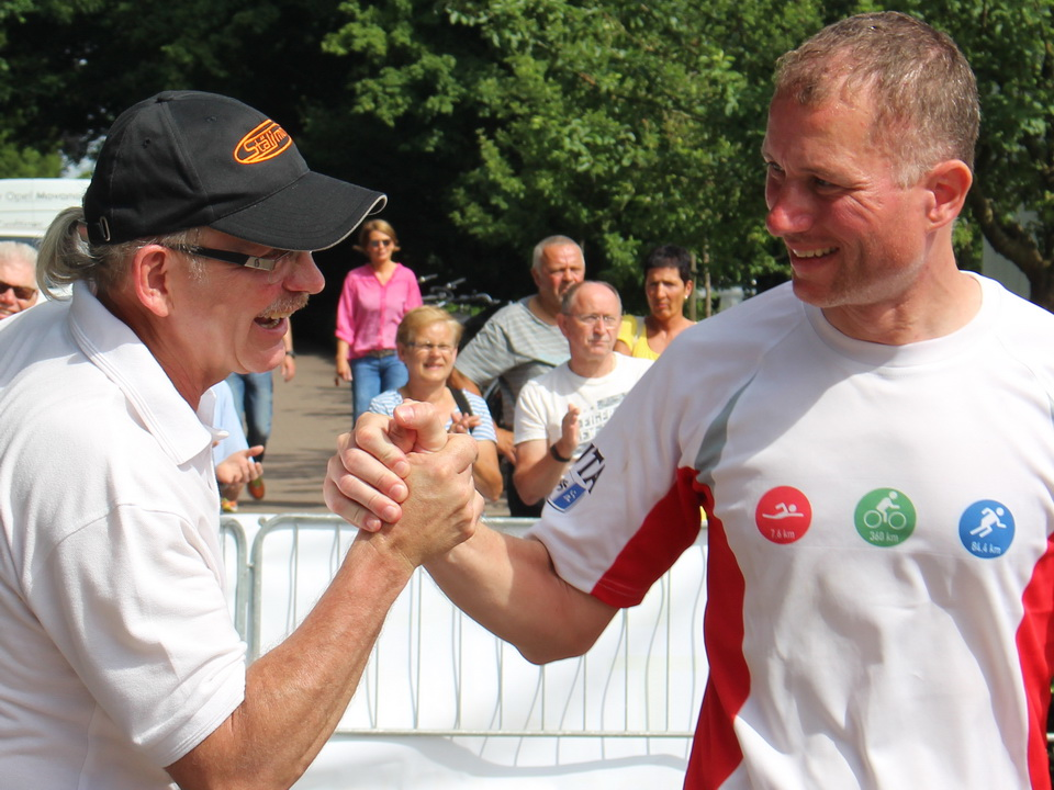Double-Ultra-Triathlon in Emsdetten 2017