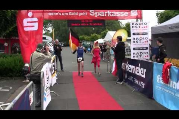 Double-Ultra-Triathlon in Emsdetten, Germany, 2015